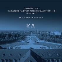 Papyrus city in Karlsruhe